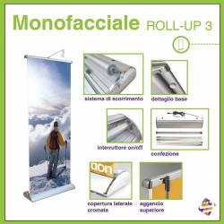 Monofacciale ROLL-UP 3