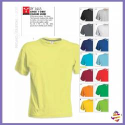 Sunset t-shirt colours uomo
