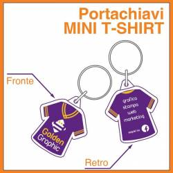 Portachiavi Mini T-shirt
