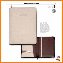 Agenda personalizzata simil pelle borsello in Vivella - The Bridge