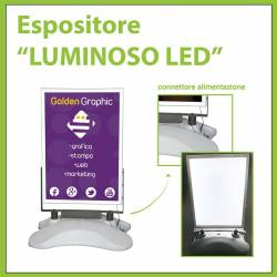 "Espositore ""LUMINOSO LED"""